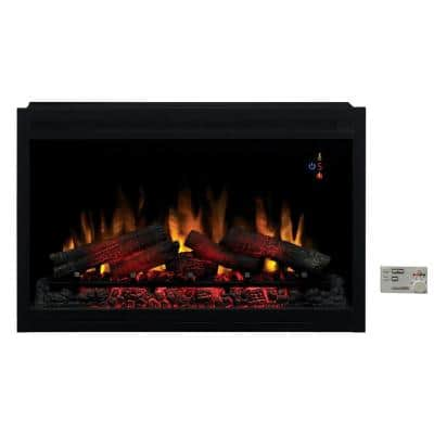 36 in. Traditional Built-in Electric Fireplace Insert