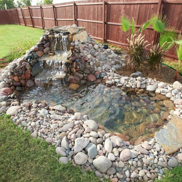 Totalpond 3 600 Gph Waterfall Pump, Images Of Garden Ponds With Waterfalls