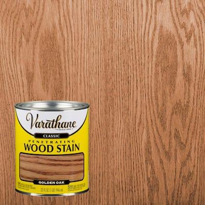 1 qt. Golden Oak Classic Wood Interior Stain (2-Pack)
