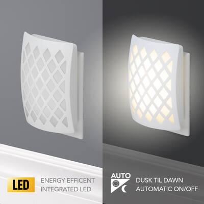 White Automatic LED Designer Night Light