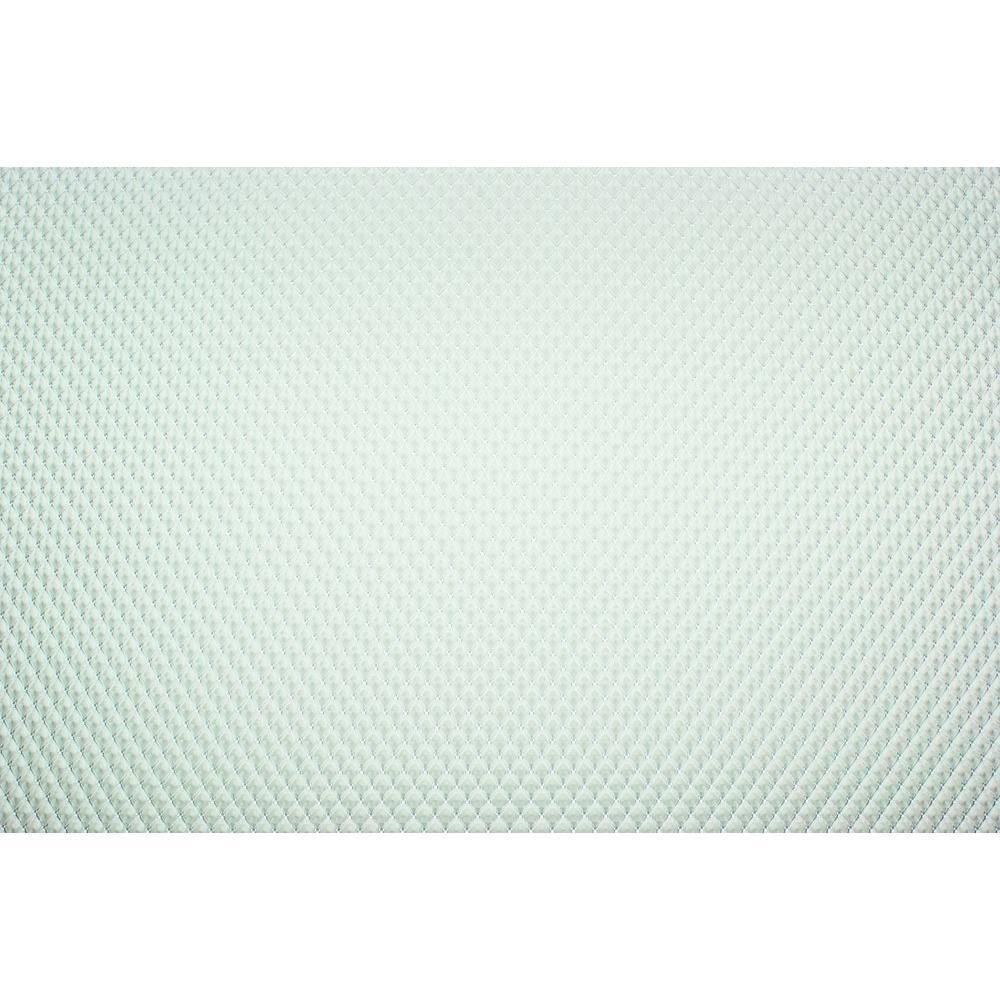 23.75 in. x 47.75 in. Clear Prismatic Styrene Lighting Panel (5-Pack)