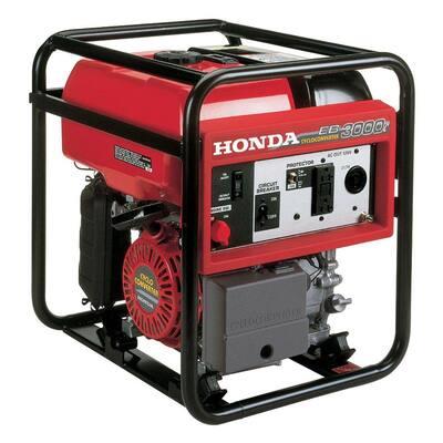 3,000-Watt Gas Powered Manual Start Generator with GX200 Engine - 50 States