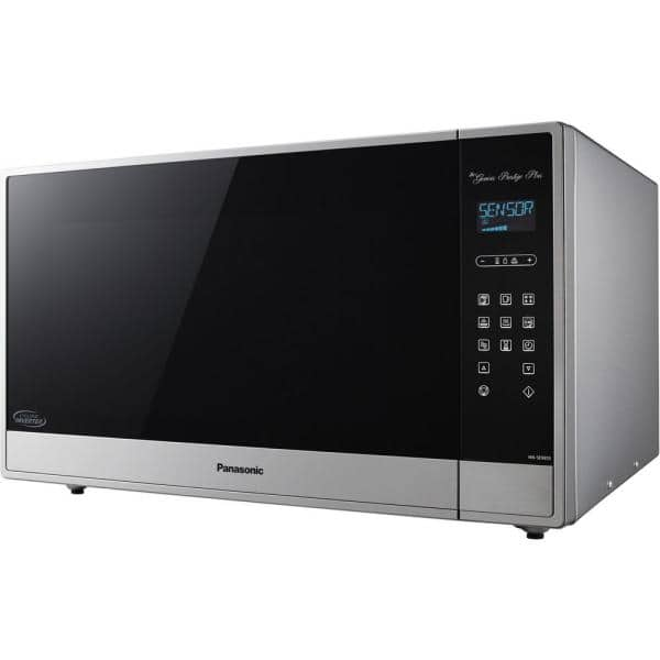 2 2 cu ft built in or countertop microwave oven in fingerprint proof stainless steel