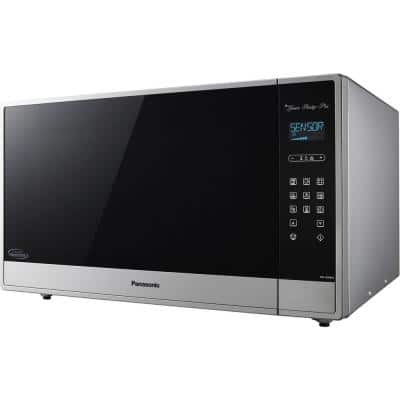 2.2 cu. ft. Built in or Countertop Microwave Oven in Fingerprint-Proof Stainless Steel