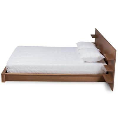 Elina Brown King Storage Bed