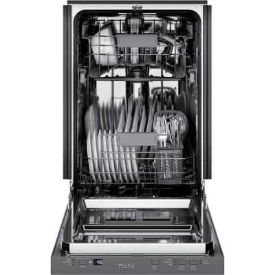 Profile 18 in. Stainless Steel Top Control Smart Dishwasher 120-Volt with Stainless Steel Tub and 47 dBA