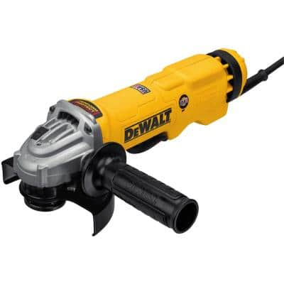 13 Amp Corded 4-1/2 in. to 5 in. Angle Grinder with No-Lock-On Paddle Switch