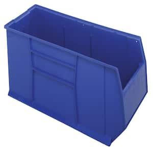 Quantum Rackbin 42 in. 50-Gal. Storage Tote in Blue (1-Pack)