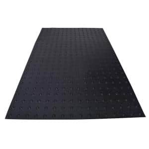 PowerBond 36 in. x 5 ft. Black ADA Warning Detectable Tile (Peel and Stick)