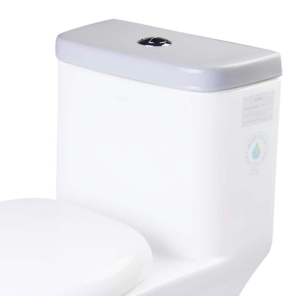 Eago R 346lid Toilet Tank Cover In White R 346lid The Home Depot