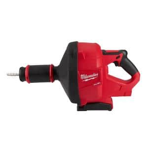 M18 FUEL 18V Lithium-Ion Cordless Drain Cleaning Snake Auger with 5/16 in. Cable Drive (Tool-Only)