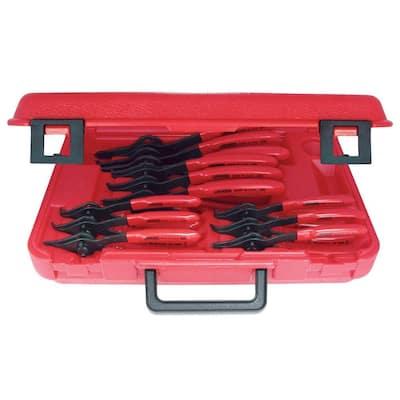 Convertible Retaining Ring Plier Set (12-Piece)