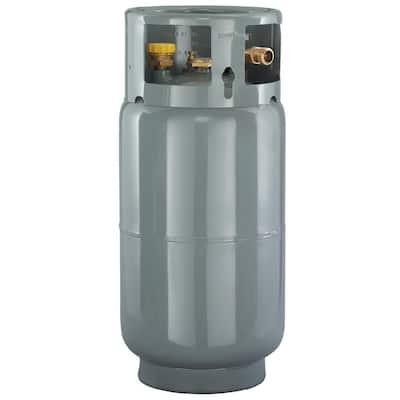 33.5 lbs. Empty Steel Forklift Cylinder