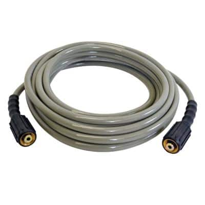 MorFlex 1/4 in. x 25 ft. x 3300 PSI Cold Water Replacement/Extension Pressure Washer Hose