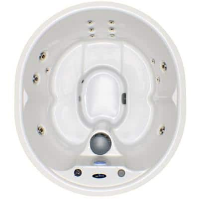 Hudson Bay Spas 5-Person 14-Jet Spa with Stainless Jets and Cord Included