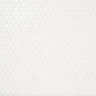 Contempo White Circles  11-12 in. x 12 in. 8 mm Polished and Frosted  Glass Mosaic Tile(0.96 sq. ft. )