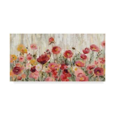 Sprinkled Flowers by Silvia Vassileva 16 in. x 32 in.