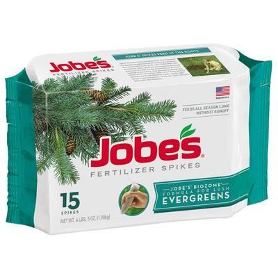 4 lb. Evergreen Tree Fertilizer Spikes (15-Pack)