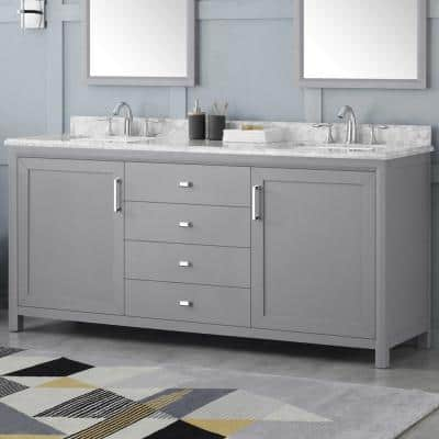 72 Inch Vanities And Larger Bathroom Vanities Bath The Home Depot