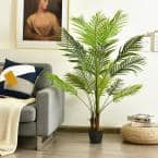 4.3 ft. Artificial Phoenix Palm Tree Plant for Indoor Home Office Store