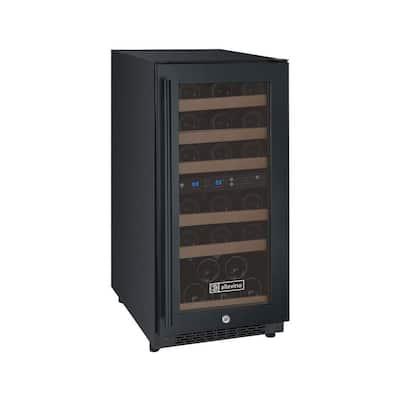 FlexCount II Dual Zone 30-Bottle Built-in Wine Refrigerator