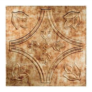 Traditional #5 2 ft. x 2 ft. Bermuda Bronze Lay-In Vinyl Ceiling Tile ( 20 sq.ft. )