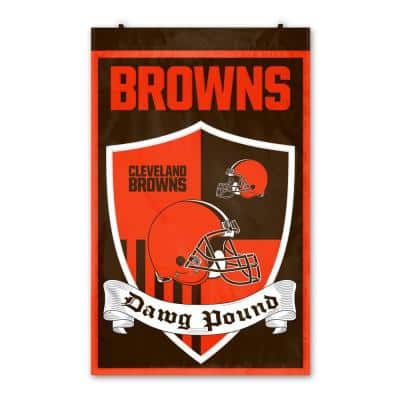 Cleveland Browns Shield Crest Wall Tapestry