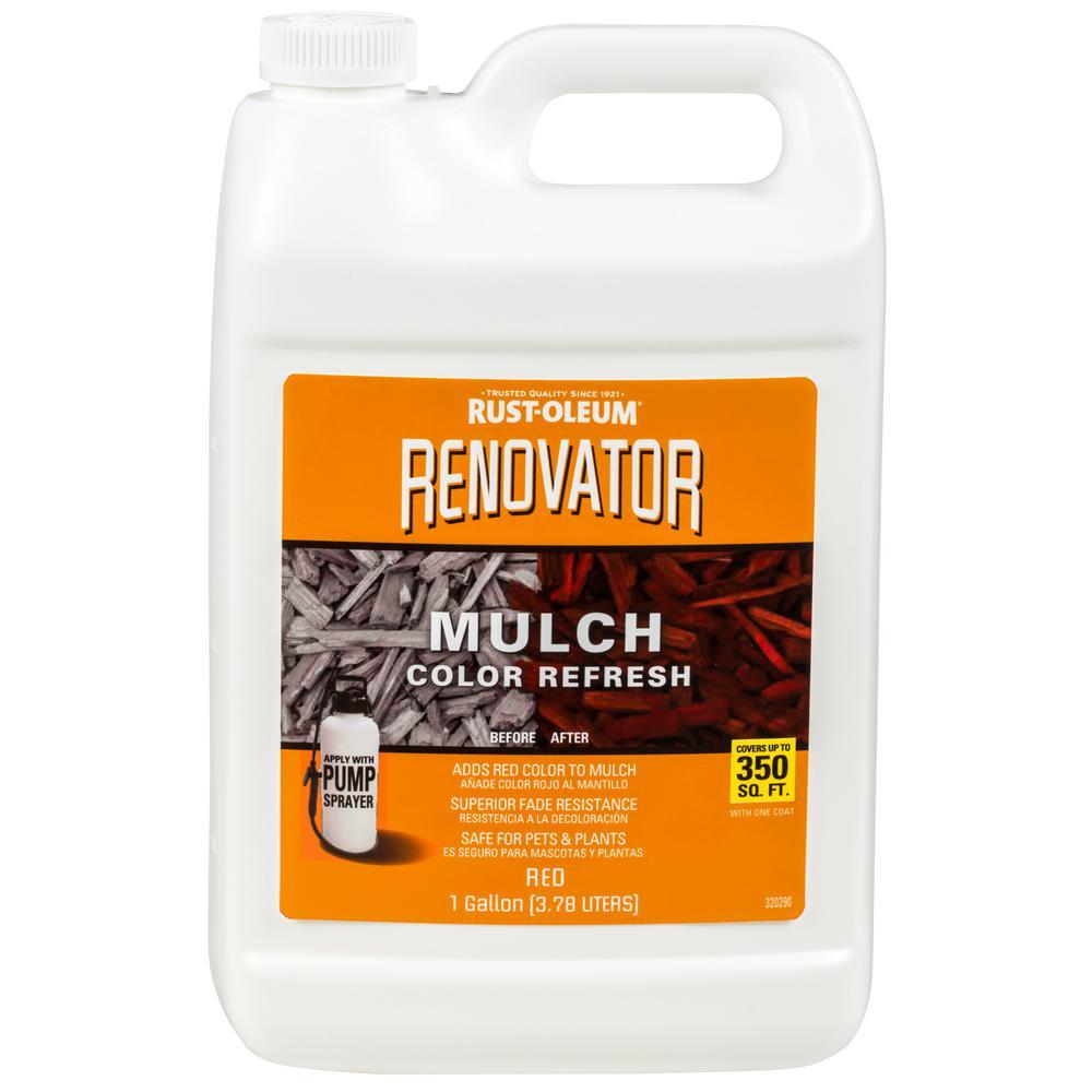 1 gal. Red Mulch Renovator
