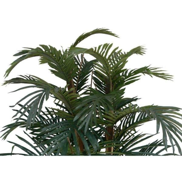 Vintage Home 60 In Tall Palm Tree Artificial Faux Lifelike In Bamboo Wicker Planter Set Of 2 Vha102326 2pack The Home Depot