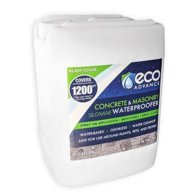 5 gal. Clear Penetrating Siloxane Concrete and Masonry Water Repellent Sealer