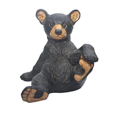 13 in. Bear Cub Garden Statue