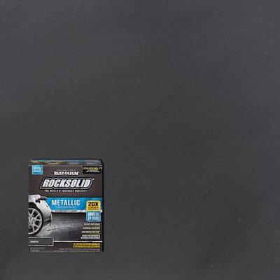 70 oz. Gunmetal Metallic Garage Floor Kit