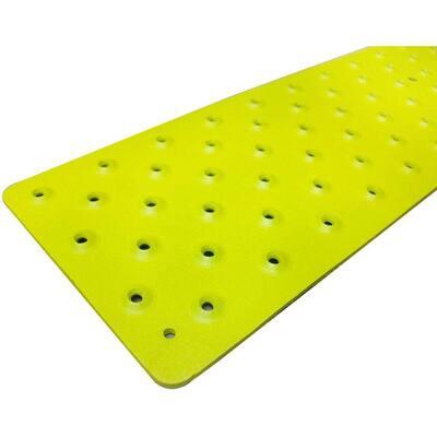 3.75 in. x 30 in. Non-Slip Aluminum Tread, Yellow
