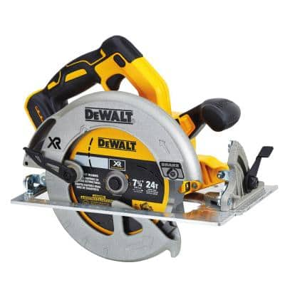 20-Volt MAX XR Cordless Brushless 7-1/4 in. Circular Saw (Tool-Only)