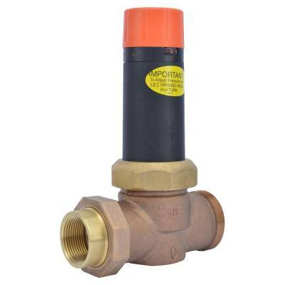 1-1/4 in. Bronze EB-25 Single Union Pressure Regulating Valve