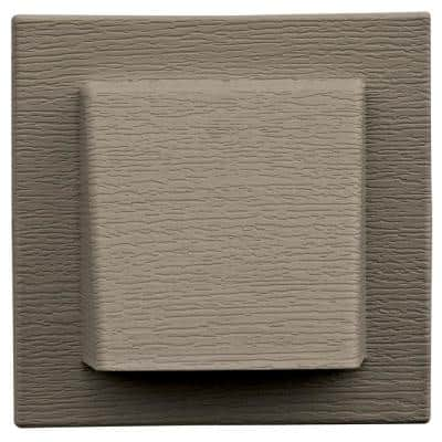 8 in. x 7.875 in Water Management 4 in. Hooded Vent in #097 Clay