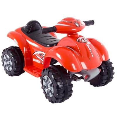 Battery Powered Ride on Toy 4-Wheeler in Red