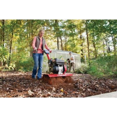 Colt 24 in. 208 cc OHV Engine Front Tine Forward Rotating Gas Garden Tiller with Adjustable Tilling Width