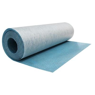 Durabase CI++ 108sq. ft. 3ft. 3in. x 32 ft. x 1/8in. Waterproof Floor Uncoupling Mat Underlayment