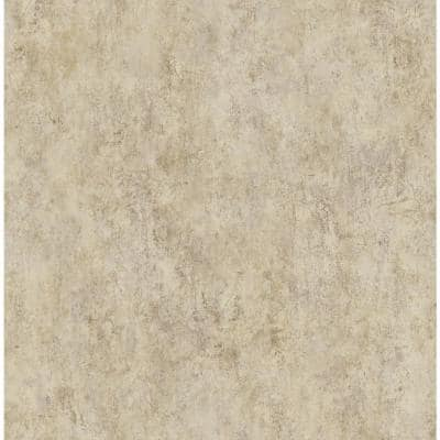 Marble Beige Paper Strippable Wallpaper Roll (Covers 57.00 sq. ft.)