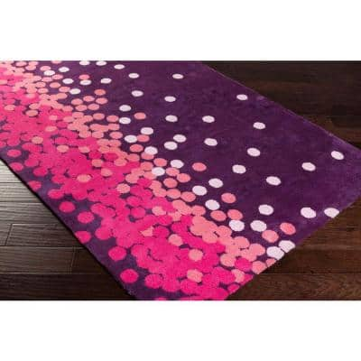 Acahay Purple 8 ft. x 11 ft. Area Rug