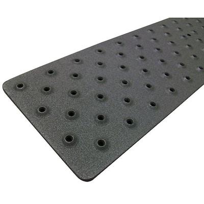 3.75 in. x 30 in. Non-Slip Aluminum Tread, Black