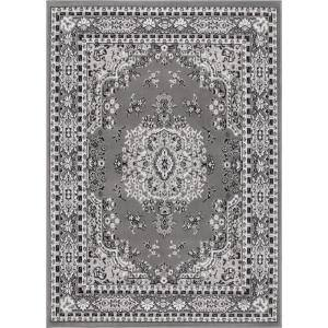 Premium Gray 9 ft. 2 in. x 12 ft. 5 in. Indoor Area Rug