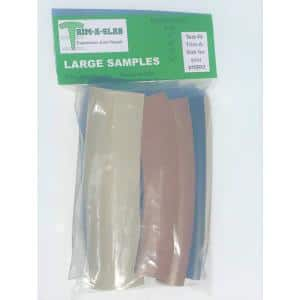 6 in. Large Sample Concrete Expansion Joint Pack