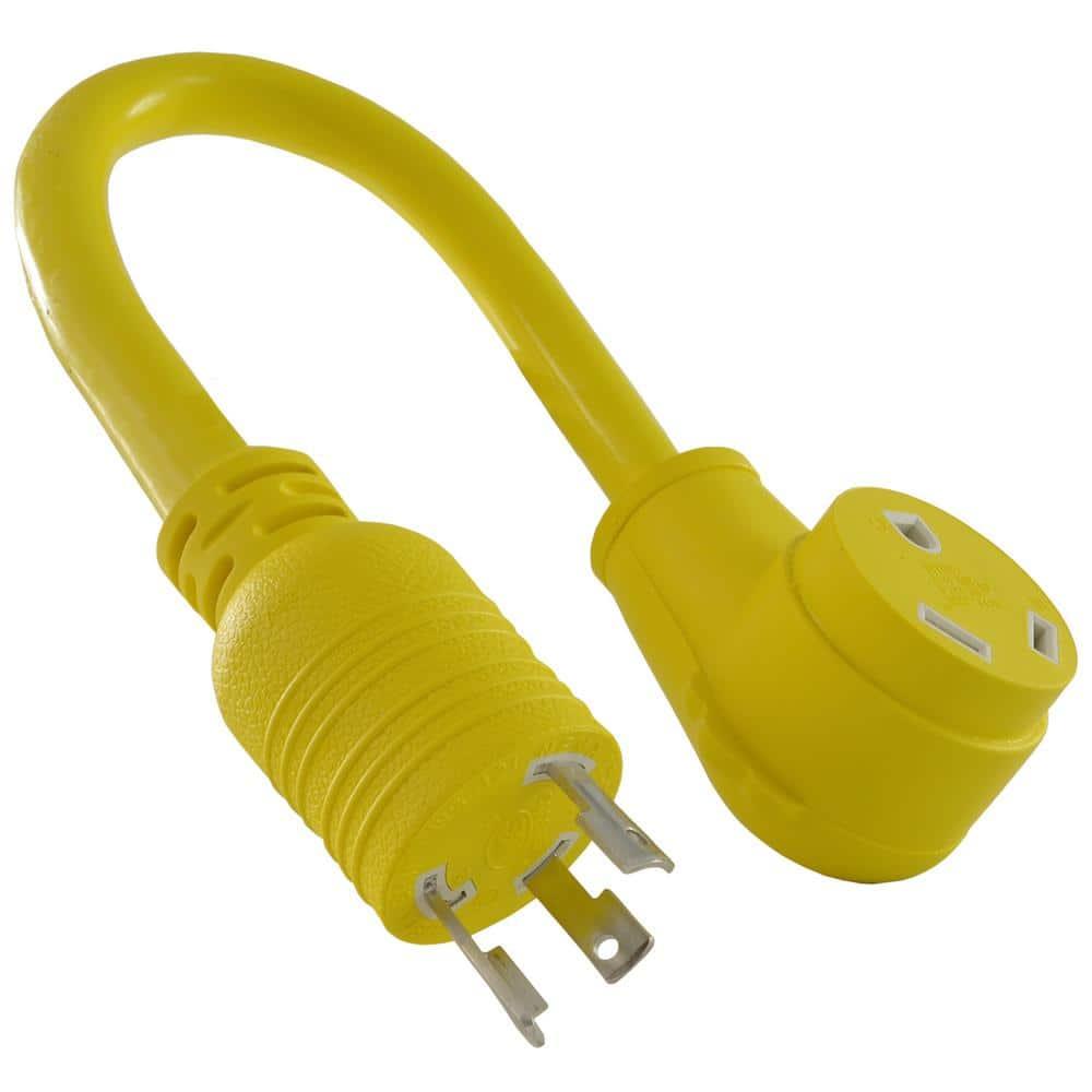 Conntek 30-Amp 125-volt L5-30P Generator Y-Adapter Male Plug to U.S,Best Quality