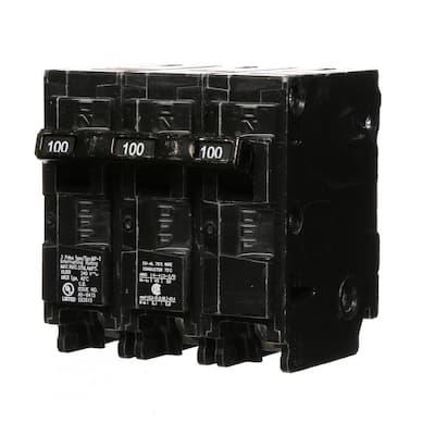 100 Amp Three-Pole Type MP Circuit Breaker