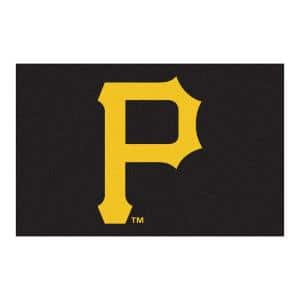 MLB Pittsburgh Pirates 1 ft. 7 in. x 2 ft. 6in. Starter Mat Area Rug