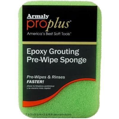 Epoxy Grouting Pre-Wipe Sponge (Case of 12)