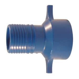 1-1/4 in. Polypropylene Blue Twister Insert x FPT