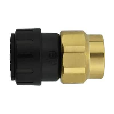 1/2 in. CTS x 1/2 in. NPS Brass ProLock Push-to-Connect Female Connector (10-Pack)